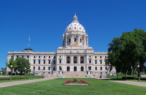 Minnesota State Capitol building in St. Paul, Minnesota, USA. By AlexiusHoratius (Own work) [CC-BY-SA-3.0 (http://creativecommons.org/licenses/by-sa/3.0) or GFDL (http://www.gnu.org/copyleft/fdl.html)], via Wikimedia Commons
