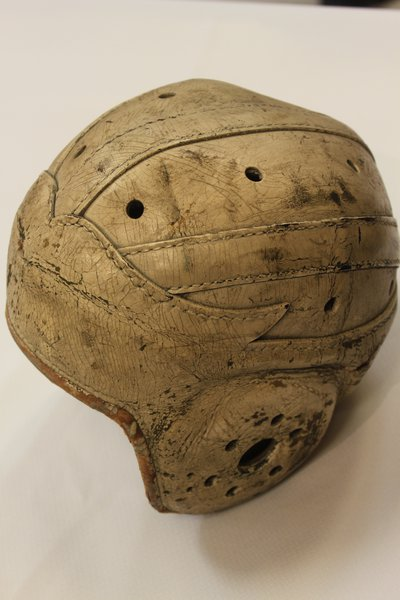 Don Hutson's helmet