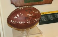 Up Close View as Packers Hall of Fame Items Move to Neville Museum 28