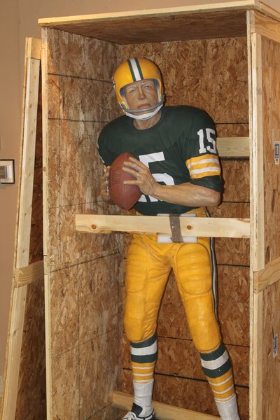 """""""Bart in a Box"""" is ready to be unboxed and greet fans at the Neville Public Museum"""