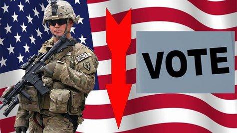 military absentee ballot