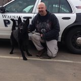 Wausau Police K9 Santo and Officer Shawn Fritsch
