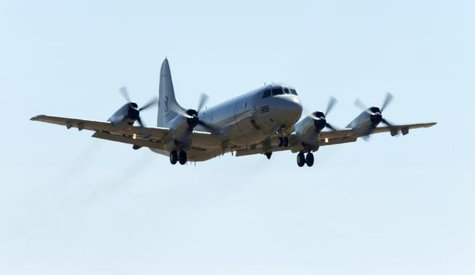 A Republic of Korea P-3 Orion aircraft takes off from the Royal Australian Air Force (RAAF) Base Pearce during search for the missing Malaysia Airlines MH370 near Perth, March 28, 2014.  CREDIT: REUTERS/JASON REED