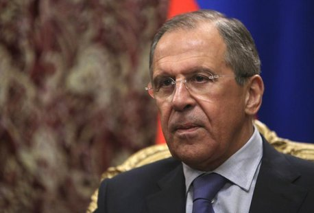 Russian Foreign Minister Sergei Lavrov attends a meeting with his Cypriot counterpart Ioannis Kasoulides in Moscow March 28, 2014. REUTERS/S