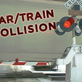 car / train collision