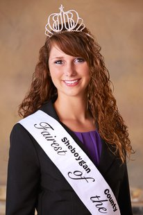 2013 Sheboygan County Fairest of the Fair Jennifer Kuffel