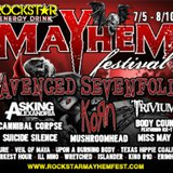 Image courtesy of RockstarMayhemFest.com (via ABC News Radio)