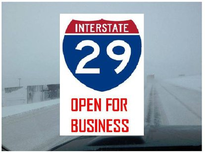 I-29 Open Between Brookings and the North Dakota Border. (KELO AM Image)