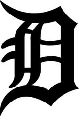 "Old English ""D"" means the Detroit Tigers."