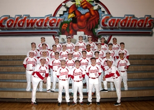 2014 Coldwater High School Varsity and Junior Varsity baseball teams