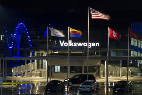 A general view of the Volkswagen plant in Chattanooga,Tennessee February 14, 2014. REUTERS/Christopher Aluka Berry