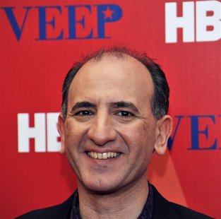 Series creator Armando Iannucci attends the world premiere of new HBO series VEEP in New York City April 10, 2012. REUTERS/Stephen Chernin