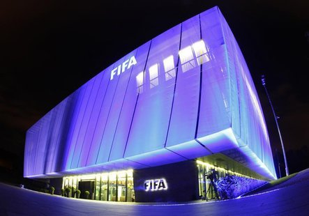 A general view shows FIFA headquarters, the Home of FIFA, in Zurich October 20, 2010. REUTERS/Christian Hartmann
