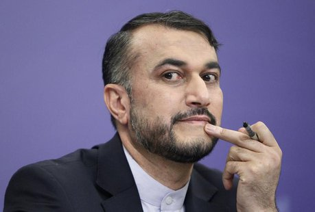 Iran's Deputy Minister for Arab and Foreign Affairs Hossein Amir Abdollahian attends a news conference in Moscow, September 10, 2013. REUTER