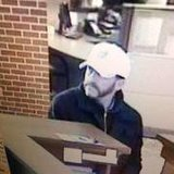 Suspect who robbed the Wells Fargo Bank in Angola, Indiana bank April 1, 2014