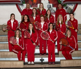 2014 Coldwater High School Girls Varsity Tennis Team