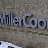 A sign is seen outside the MillerCoors corporate offices in Golden, Colorado February 12, 2014. REUTERS/Rick Wilking