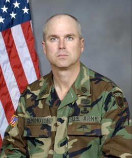Sargent Major Kevin Remington