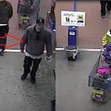 Composite image of suspects in the use of a stolen credit card in Oshkosh. (Photos from: Oshkosh Police Department).