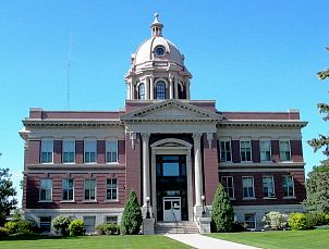 Dickey Co. Courthouse