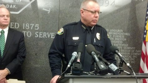 Fargo Police Chief Keith Ternes