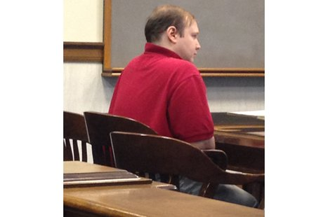 Victor Iakimenko appears in court, April 4, 2014. (Photo from: FOX 11).