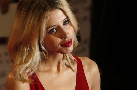 "Peaches Geldof, daughter of Bob Geldof, arrives for the European premiere of ""The Twilight Saga: Breaking Dawn Part 2"" in London in this Nov"