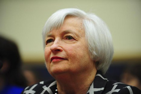 "Federal Reserve Chair Janet Yellen testifies before a House Financial Services Committee hearing on ""Monetary Policy and the State of the Ec"