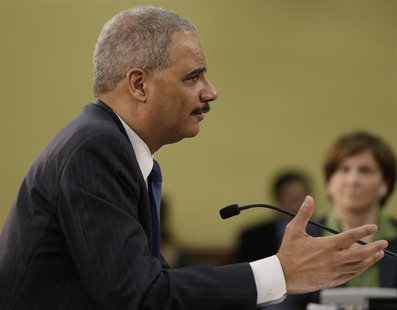 United States Attorney General Eric Holder appears before the House Appropriations Commerce, Justice, Science and Related Agencies subcommit
