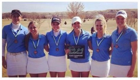 Sioux Falls O'Gorman Girls Golf Team.  (Photo/Myla Brown)