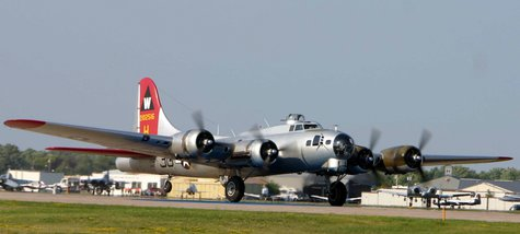 "B-17G-VE ""Aluminum Overcast"", serial number 44-85740, at EAA's 2006 EAA AirVenture Oshkosh in Oshkosh, Wisconsin. (Photo from: Wikimedia Commons)."