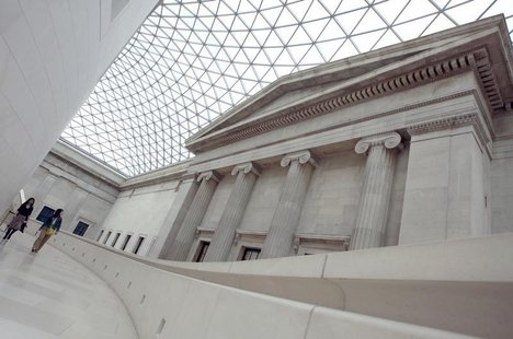 The Great Court of the British Museum is seen in London April 11, 2007. REUTERS/Alessia Pierdomenico