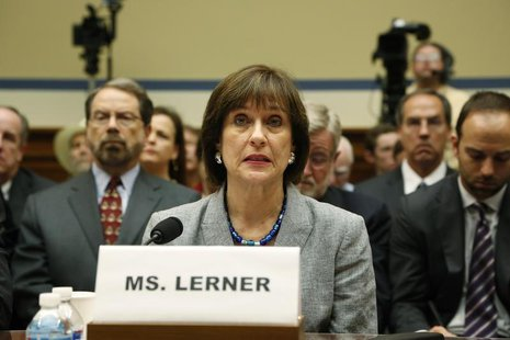 Director of Exempt Organizations for the Internal Revenue Service (IRS) Lois Lerner prepares to deliver an opening statement to a House Over
