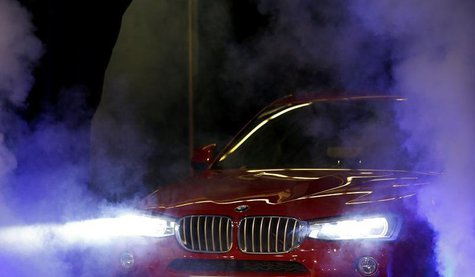 The new BMW X4 is unveiled during an event at the BMW manufacturing plant in Spartanburg, South Carolina March 28, 2014. REUTERS/Chris Keane