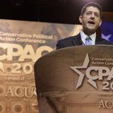 U.S. Rep. Paul Ryan (R-WI) makes remarks to the Conservative Political Action Conference (CPAC) in Oxon Hill, Maryland, March 6, 2014. REUTE