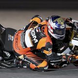 NGM Mobile Forward Racing MotoGP rider Colin Edwards of the U.S. races during a free practice session at the MotoGP World Championship at th