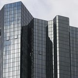 The headquarters of Deutsche Bank are pictured in Frankfurt Octoeber 29, 2013. REUTERS/Ralph Orlowski