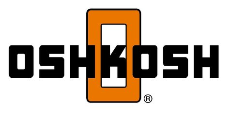 Oshkosh Corporation logo (By Oshkosh corporation [Public domain], via Wikimedia Commons)