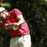 Spain's Jose Maria Olazabal hits his tee shot on the second hole during the first round of the 2014 Masters golf tournament at the Augusta N