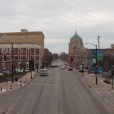 University Avenue in Champaign, Illinois