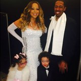 Image courtesy of Image Courtesy Mariah Carey via Instagram (via ABC News Radio)