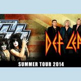 Image courtesy of Courtesy of KISS & Def Leppard (via ABC News Radio)