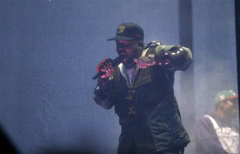 Big Boi of Outkast performs at the Coachella Valley Music and Arts Festival in Indio, California April 11, 2014. REUTERS/Mario Anzuoni