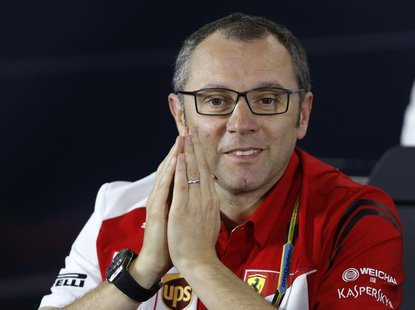 Ferrari Formula One team principal Stefano Domenicali attends a news conference after the second practice session of the Australian F1 Grand