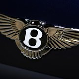 The logo on the back of a Bentley Motors vehicle is seen at the 2013 Los Angeles Auto Show in Los Angeles, California November 20, 2013. REU