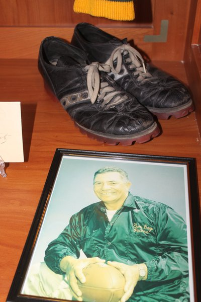 Vince Lombardi's cleats
