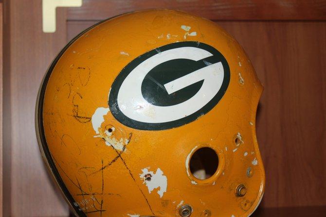 Bart Starr's helmet