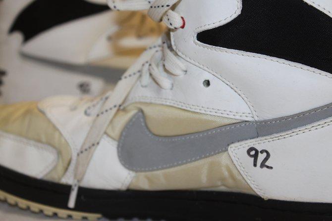 Reggie White's Super Bowl XXX! shoes