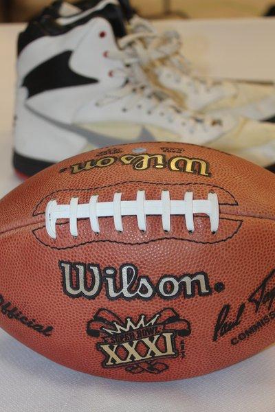 Super Bowl XXXI game ball