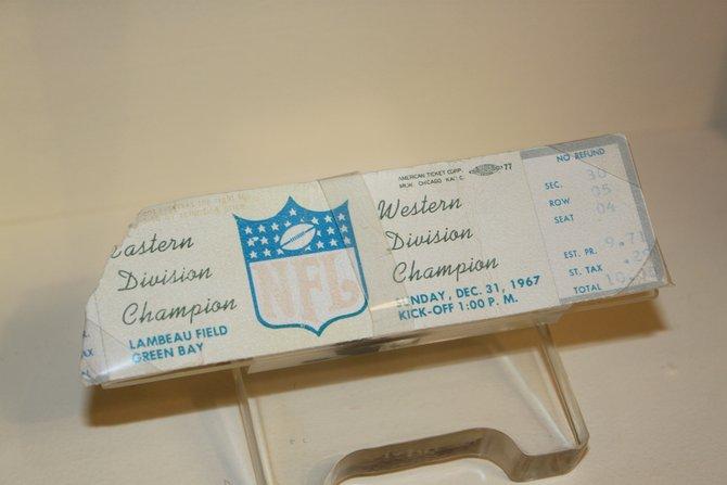 Ice Bowl ticket